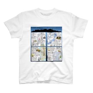 長崎 軍艦島 T-shirts
