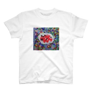 赤べこお T-shirts
