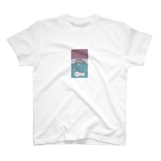 Osanpo-Nekoの働きたくないくま T-shirts