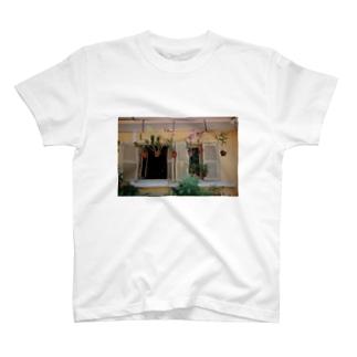 ホーチミンの植物Tシャツ T-shirts