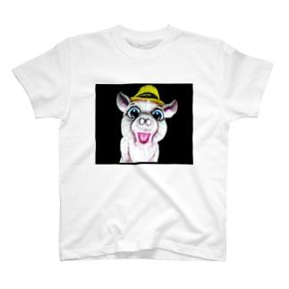 やみよのぶた T-shirts
