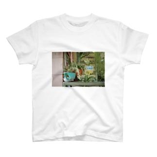 ホーチミンの植物Tシャツ2 T-shirts