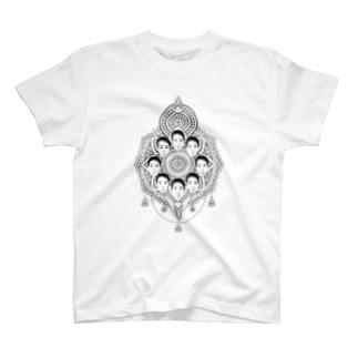 ヤマト総会-曼荼羅- Tシャツ T-shirts