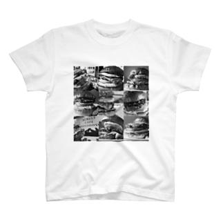 ハンバーガー大集合 T-shirts