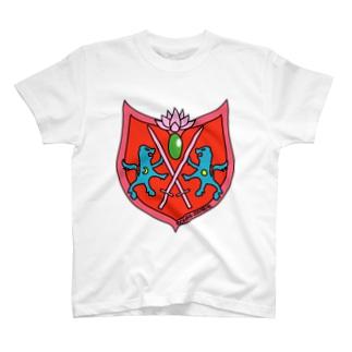 エンブレムアカ T-shirts
