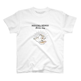 MECCHA NEMUI いぬ T-shirts