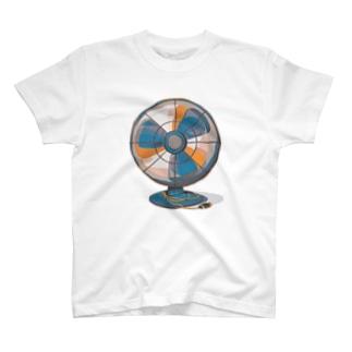 せんぷうき(ステッカーボム) T-shirts