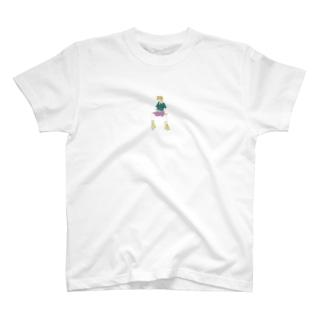 mi_ki_monのふてくされ T-shirts