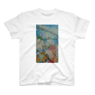 銭湯ぅスキッ T-shirts