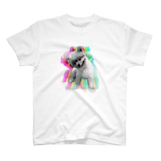 フォトショで撮ったうちの犬 T-shirts