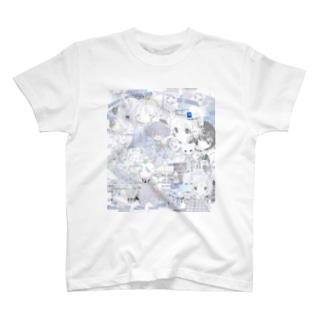 ゆーきん×砂気球 T-shirts