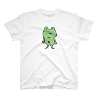 ZENZERON064(カエル) T-shirts