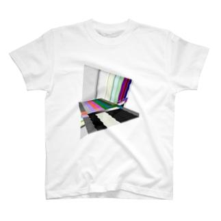 カラーバー T-shirts