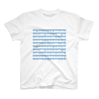 ねこボーダー T-shirts