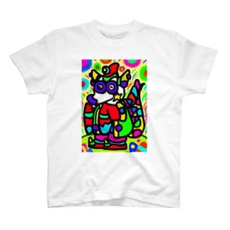 竜のパンワン T-shirts