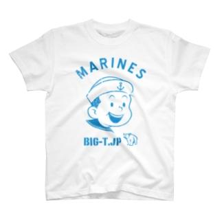 Big-T.jpのMARINE Tシャツ T-shirts