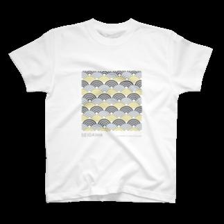 aoiroradioのSEIGAIHA(青海波) T-shirts