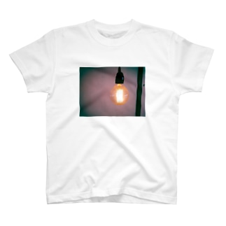 電球Tシャツ T-shirts