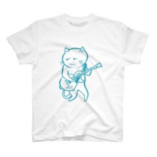 nekoguitar Tシャツ