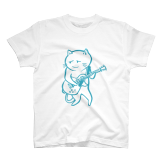 aoiroradioのnekoguitar T-shirts