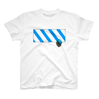 青いテープ T-shirts