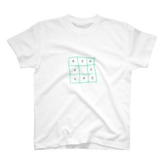 マイブームのナンプレ T-shirts