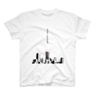 高いところが苦手な人のためのTシャツ透過版 T-shirts