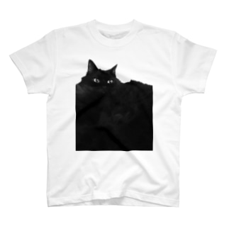 SAIWAI DESIGN STOREのクロネコ平原 T-shirts