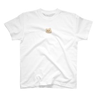 くまくまさん真顔 T-shirts