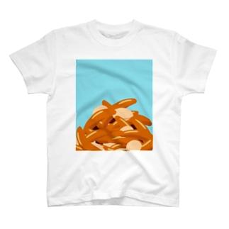 青空柿ピー T-shirts