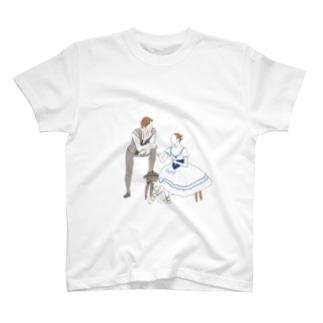 おどるおんなのことおとこのこ(ジゼル) T-shirts