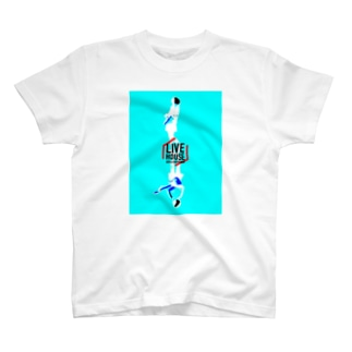 LIVE HOUSE AID in SAPPORO & Sapporo LIVE HOUSE Charity(Type A) T-shirts