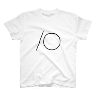 10(黒) T-shirts