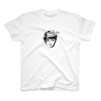 a girl is a gun. T-shirts