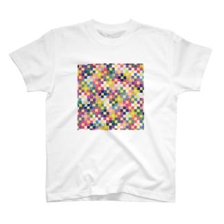 ドットフラワーズ T-shirts