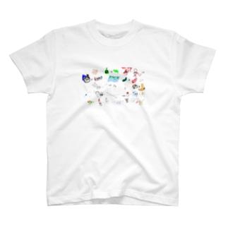 えしりとりTシャツ T-shirts