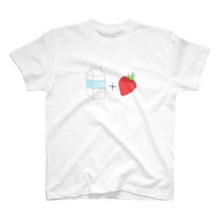いちごみるくの作り方 T-shirts