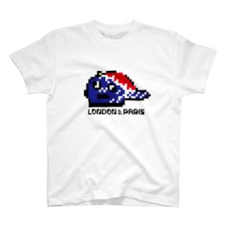 LONPARI 8BITS 「CAAAAP」 T-shirts