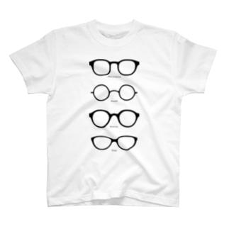 メガネT T-shirts