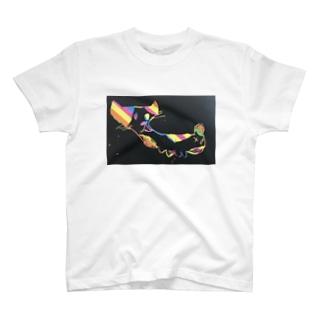 itukanの虹ねこ🌈 T-shirts