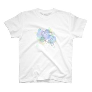 ふわふわきらきら T-shirts
