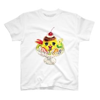 ゲロ吐きプリンちゃん T-shirts
