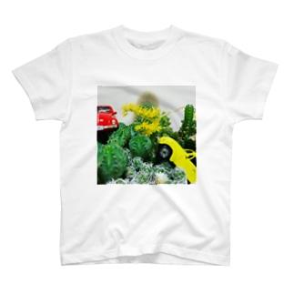 多肉damono🇯🇵のサボテンTシャツ T-shirts