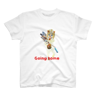 Rock catのCAT GIRL HOME T-shirts