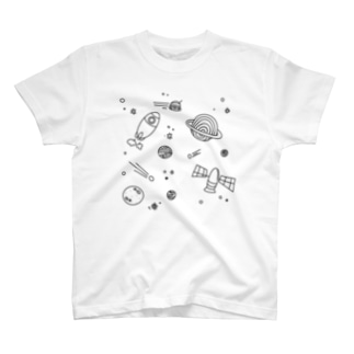 spaceTシャツ T-shirts