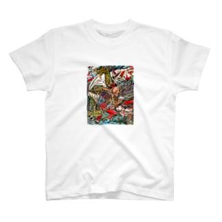 ガゴゼ(元興寺の鬼退治) T-shirts