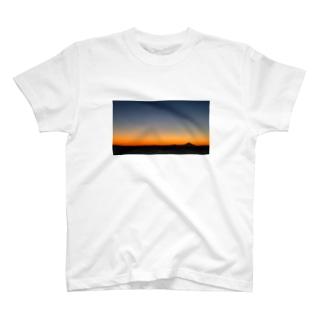 鋸南町から見えた富士山 T-shirts