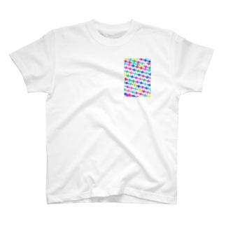 無限キューブ T-shirts