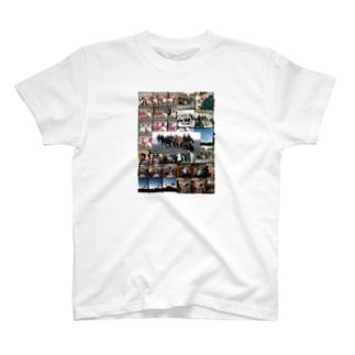 おっちーむしゃむしゃ 振り返ればmakitaの掃除機 T-shirts