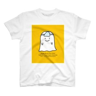 おばけのサイちゃんイエロー T-shirts
